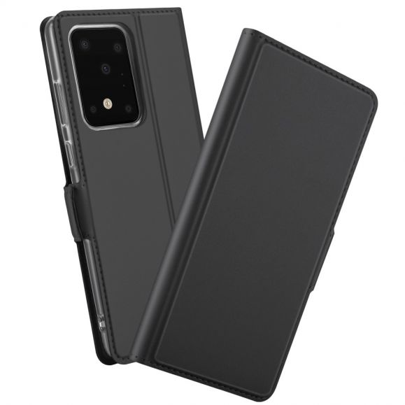 Housse Samsung Galaxy S20 Ultra flip cover stand case - Noir