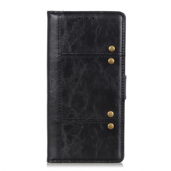 Housse OnePlus 8 style cuir clouté