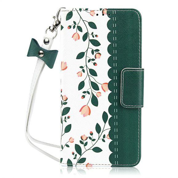Virginia - Housse Huawei Mate 30 Pro Spring Flowers avec lanière