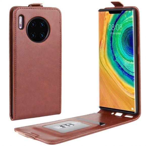 Le René - Étui Huawei Mate 30 Pro simili cuir avec rabat verticale