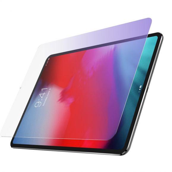 Verre trempé iPad Pro 12.9 (2020) anti-lumière bleue