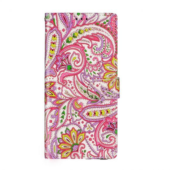 Housse Samsung Galaxy S20 Plus paisley fleur