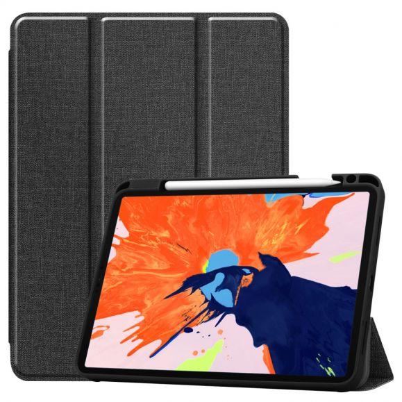 Étui à Rabat Effet Toile pour iPad Pro 11 (2020)