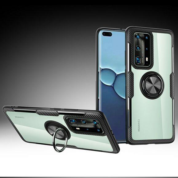 Coque Huawei P40 Pro transparente finger