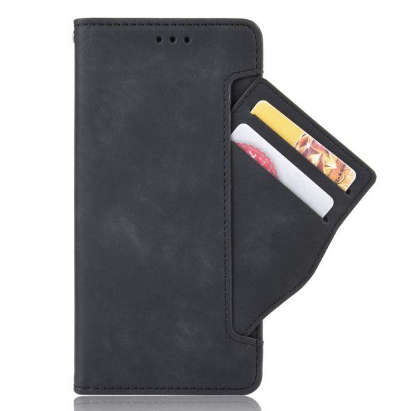 Housse Huawei P40 Lite premium portefeuille avec porte cartes