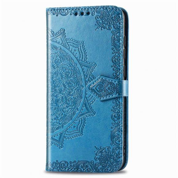 Housse Huawei P40 Lite Mandala Soleil Porte Cartes