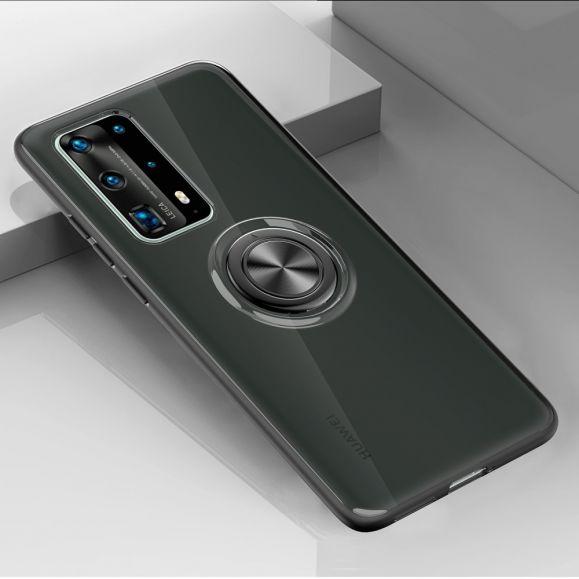 Coque Huawei P40 avec anneau magnétique