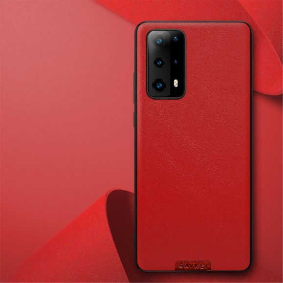 Coque Huawei P40 Color Style Effet Cuir