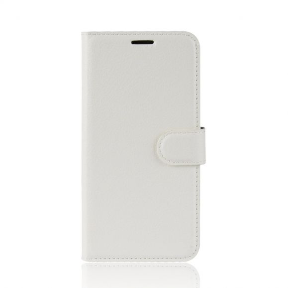 Housse Huawei P40 Lite style cuir portefeuille