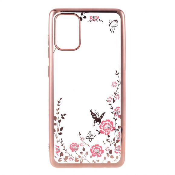 Coque Samsung Galaxy A71 transparente printemps fleuri