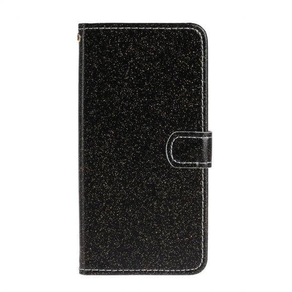Housse Samsung Galaxy A71 Paillettes Simili Cuir