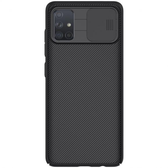 Coque Samsung Galaxy A71 avec cache objectif arrière