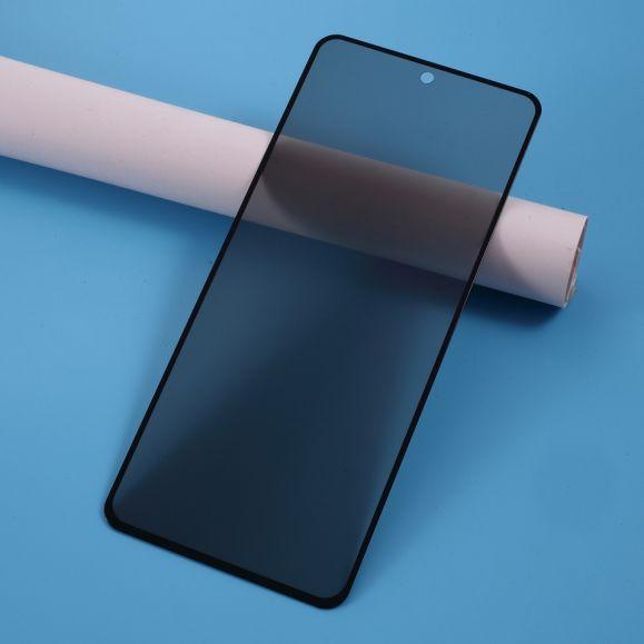Samsung Galaxy A71 - Protection d'écran verre trempé et filtre de confidentialité