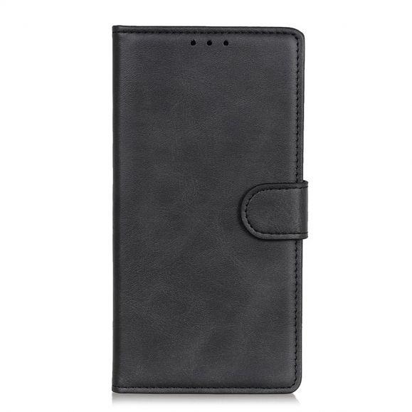 Housse OnePlus 8 Pro Marius effet cuir mat