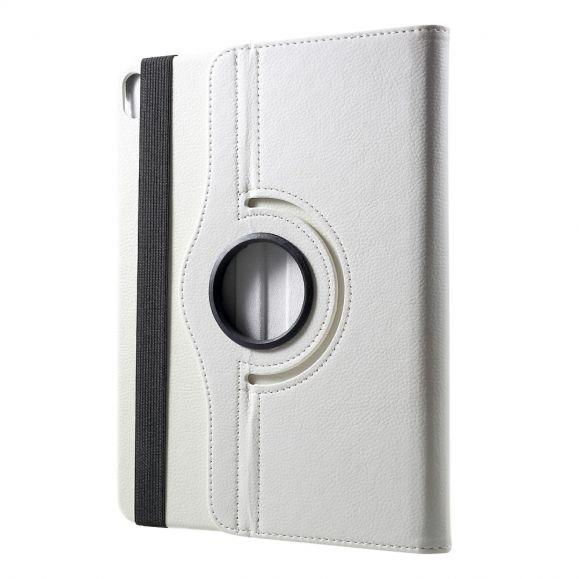 Housse iPad Pro 12.9 (2020) simili cuir litchi rotatif 360 degrés