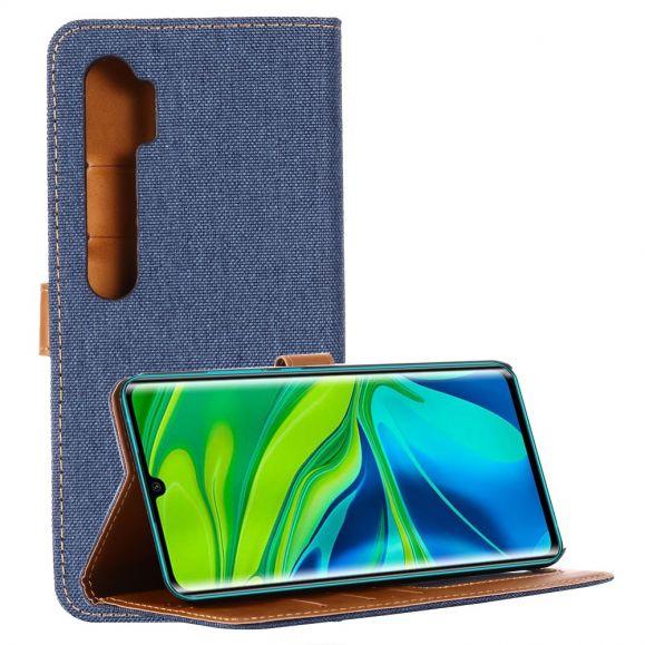 Housse Xiaomi Mi Note 10 / Note 10 Pro Oxford effet toile