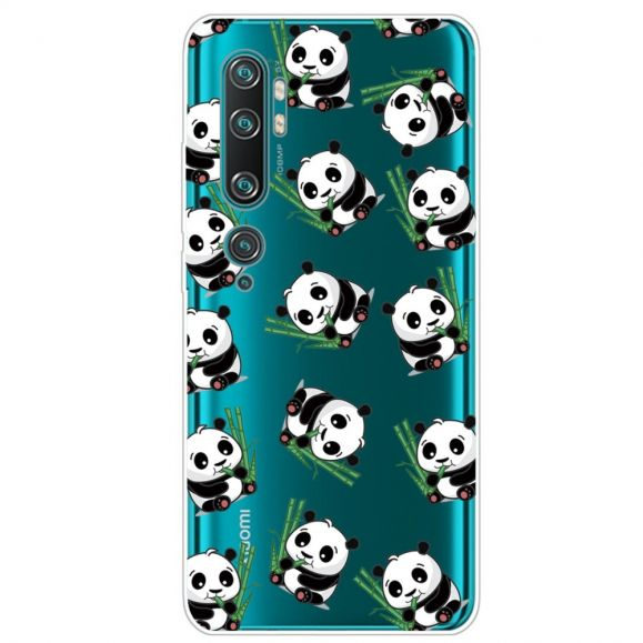 Coque Xiaomi Mi Note 10 Multiples Pandas