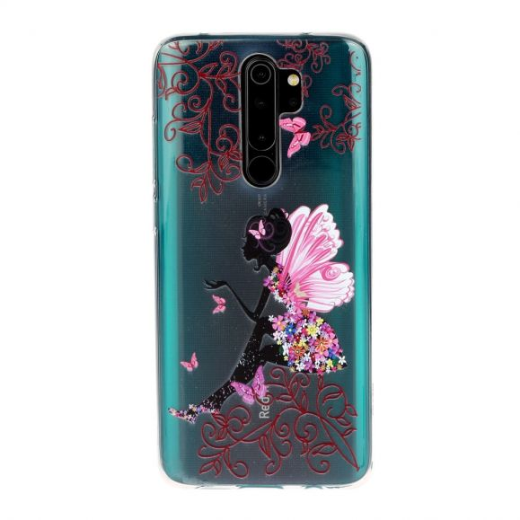 Coque Xiaomi Redmi Note 8 Pro transparente fairy
