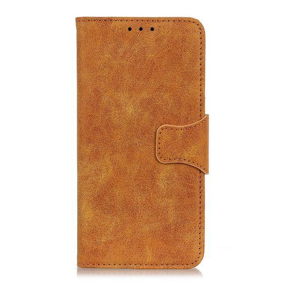 Étui OnePlus 8 Edouard en simili cuir vintage