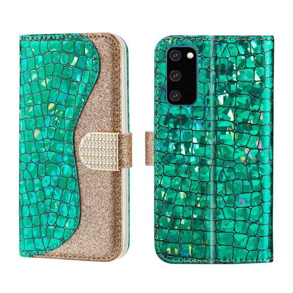 Housse Samsung Galaxy S20 Luxury Effet Croco
