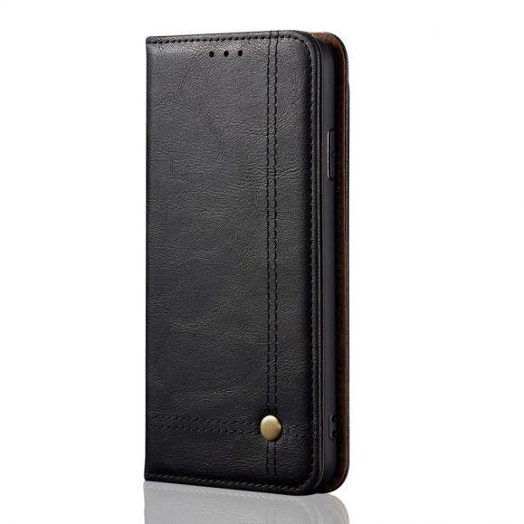 Housse OnePlus 8 Célestre simili cuir porte carte