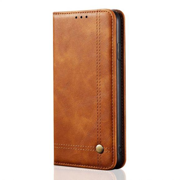 Étui OnePlus 8 Pro Célestre simili cuir porte carte