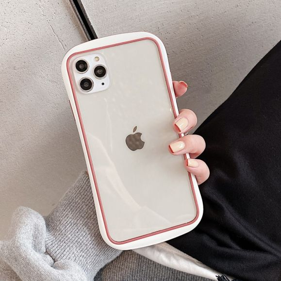 Coque iPhone 11 Pro Max Grip Dos transparent