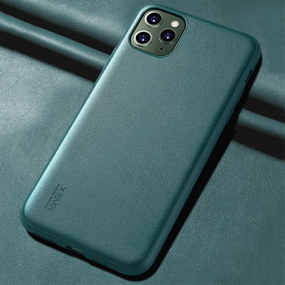 Coque iPhone 11 Pro Max X-LEVEL imitation cuir