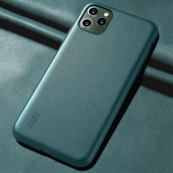 Coque iPhone 11 Pro Max X-LEVEL imitation cuir