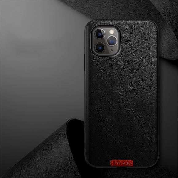 Coque iPhone 11 Pro Max Color Style Effet Cuir
