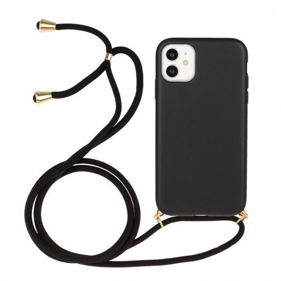 Coque iPhone 11 avec cordon bandoulière