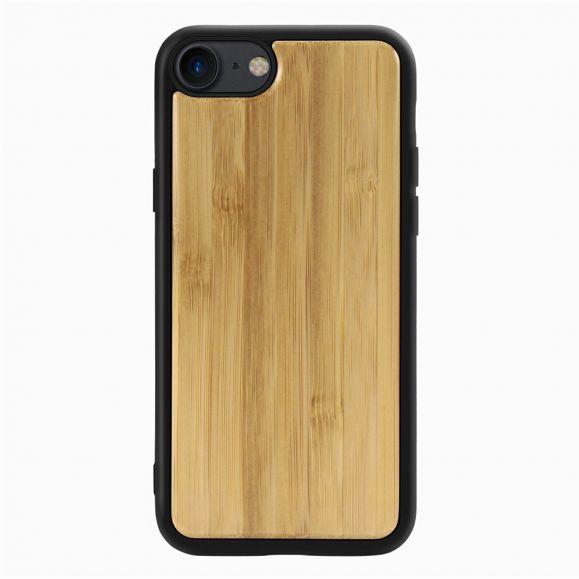 Coque iPhone SE / 8 / 7 premium Bois - Marron clair