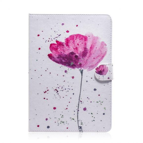 Housse iPad Pro 11 (2020) fleur rose