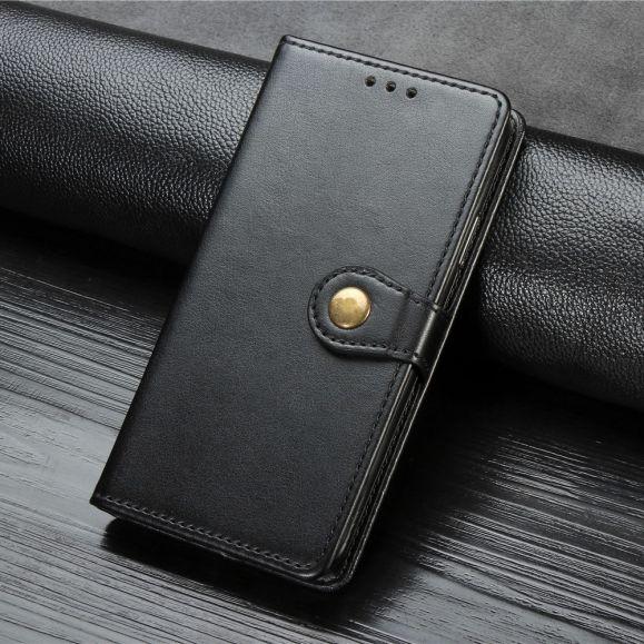 Housse iPhone SE / 8 / 7 simili cuir avec fonction support