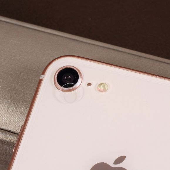 2 films en verre trempé iPhone SE / 8 / 7 pour objectif camera arrière
