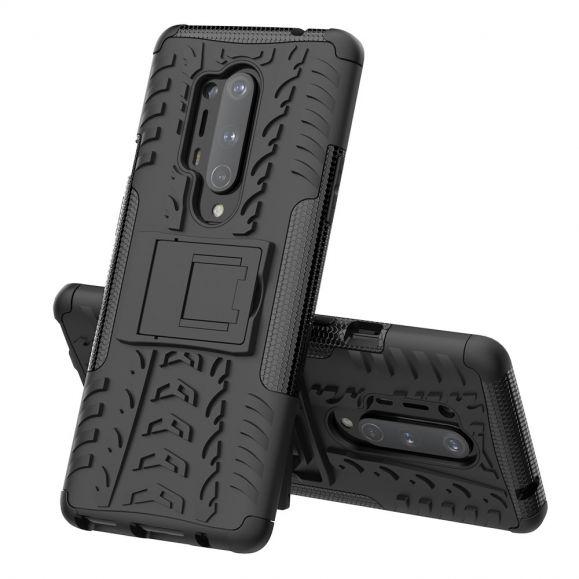Coque OnePlus 8 Pro CyGuard antidérapante avec support intégré
