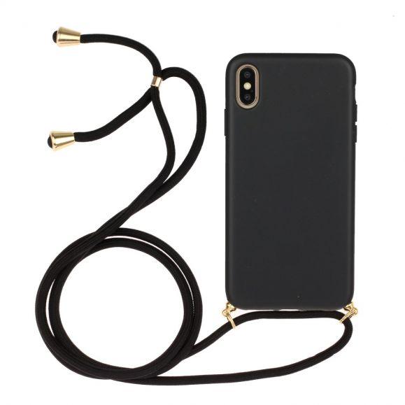Coque iPhone XS / X avec cordon bandoulière