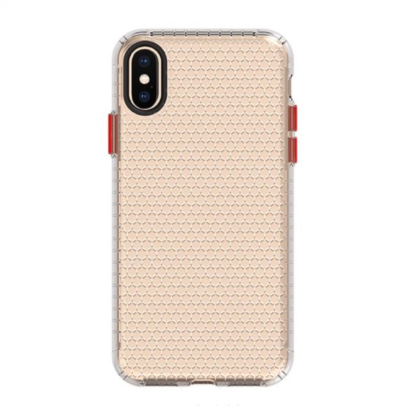 Coque iPhone XS / X Honeycomb en Silicone