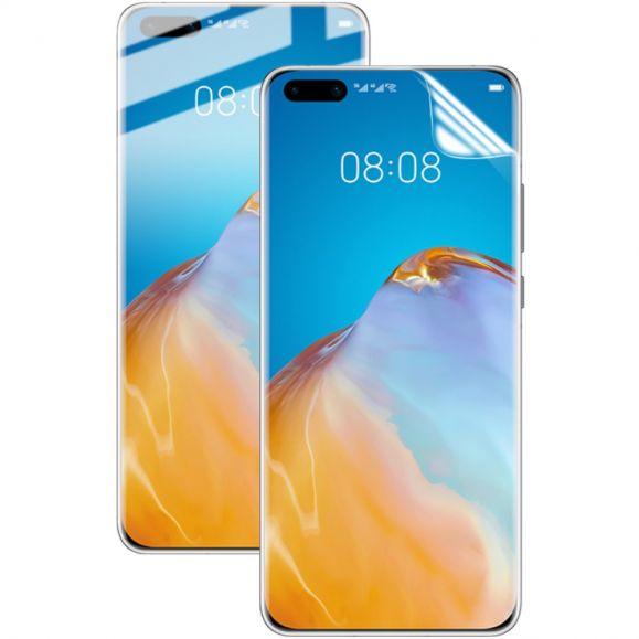 Protection d'écran Huawei P40 Pro en hydrogel - Pack de 2 films