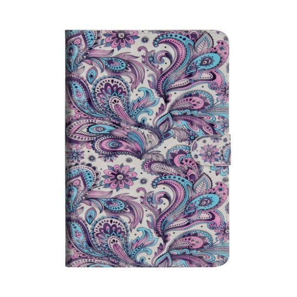 Housse Samsung Galaxy Tab S6 Paisley fleur