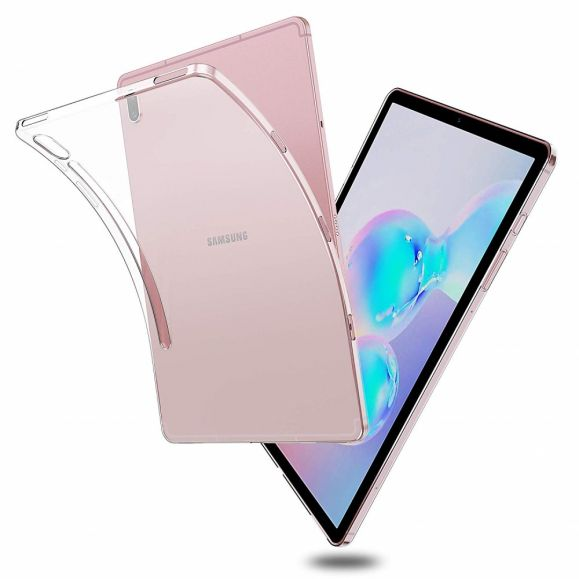Coque Samsung Galaxy Tab S6 en gel transparente