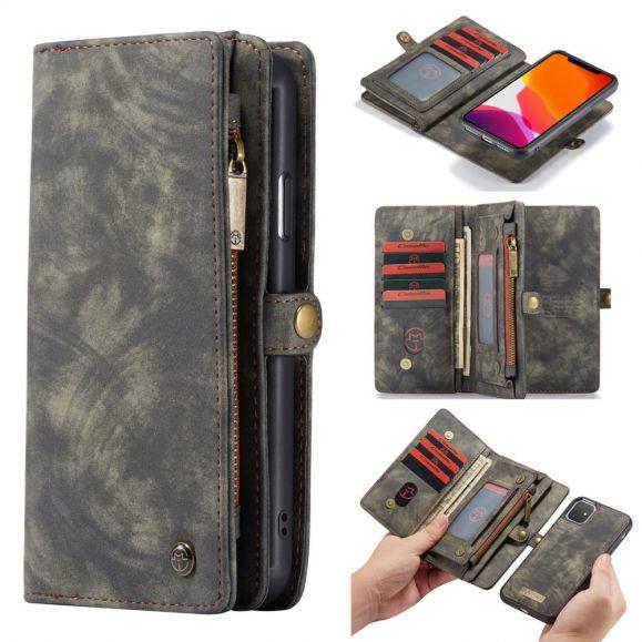 Housse portefeuille et coque magnétique pour iPhone 11