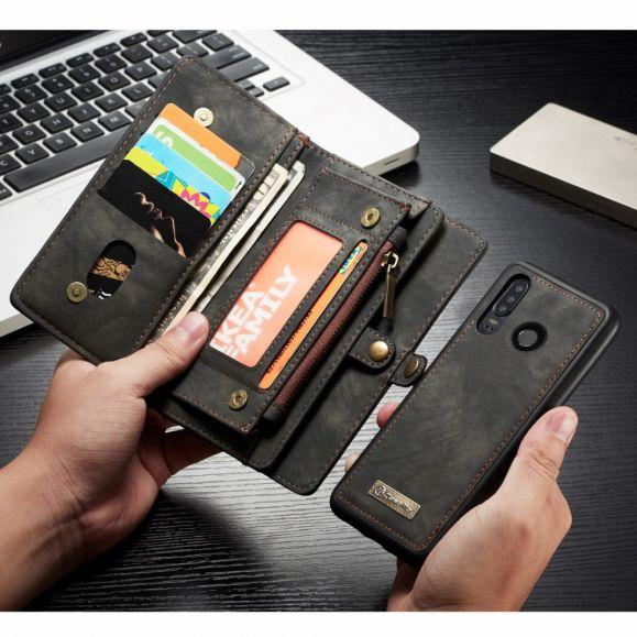 Huawei P30 Lite - Housse portefeuille avec Coque détachable