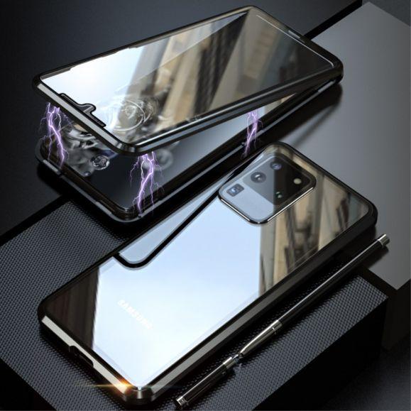 Coque Samsung Galaxy S20 Ultra LUPHIE bumper aluminium