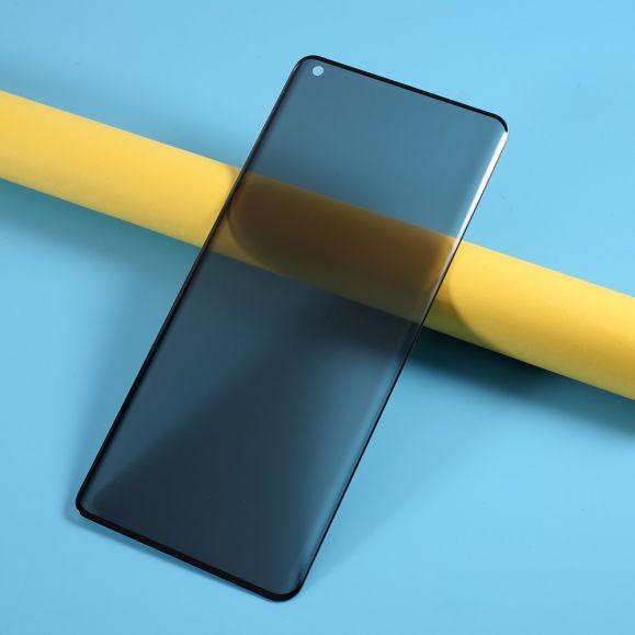 Protection d'écran OnePlus 8 verre trempé et filtre de confidentialité
