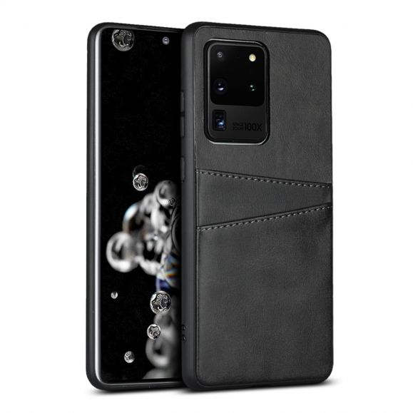Coque Samsung Galaxy S20 Ultra Effet Cuir Porte Cartes