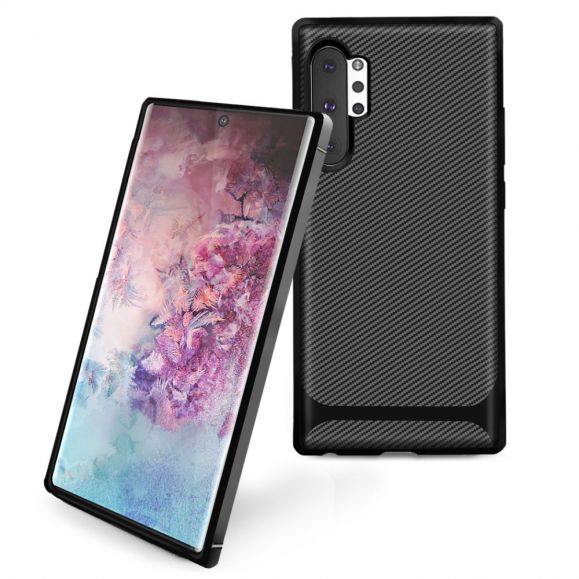Coque Samsung Galaxy Note 10 Plus Carbon Case - Noir