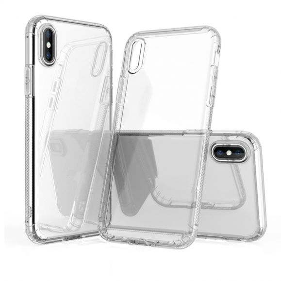 Coque iPhone X / XS transparente gel flex