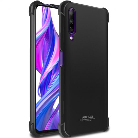 Honor 9X Pro - Coque class protect - Noir métal
