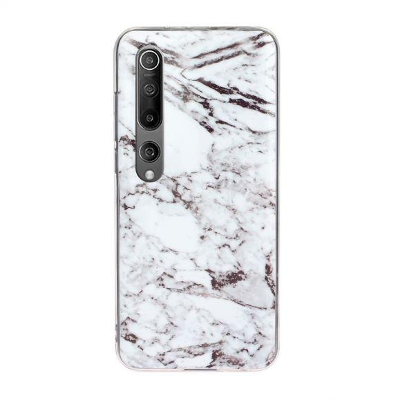 Coque Xiaomi Mi 10 Marbre en Silicone
